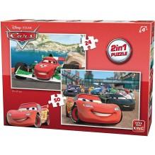 PUZZLE CARS 2 en 1