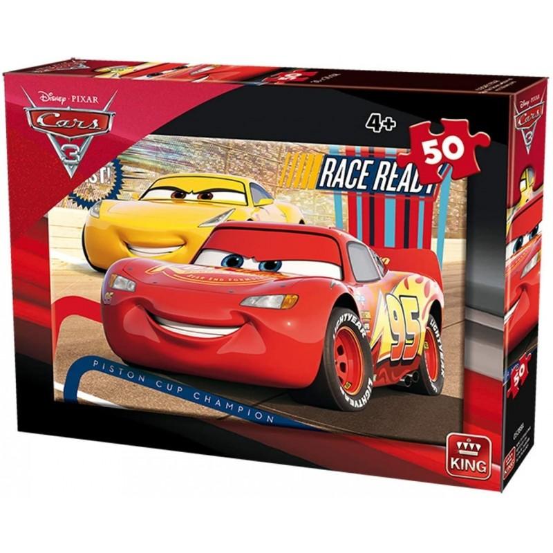 PUZZLE CARS 50 Pièces