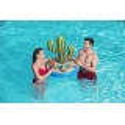 PORTE GOBELET GONFLABLE Forme de cactus