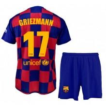 ENSEMBLE MAILLOT ET SHORT FC BARCELONE ANTOINE GRIEZMANN 6 ans