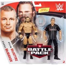 WWE Coffret 2 figurines articulées Drew McIntyre & Shane McMahon en tenue de combat