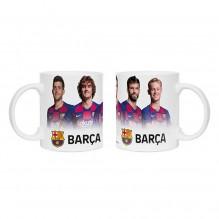 MUG FC BARCEMONE JOUEURS Messi,Griezman,piqué