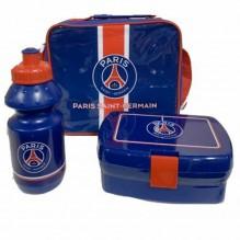 SAC ISOTHERM PARIS SAINT GEMAIN  avec boîte à goûter et gourde bleu