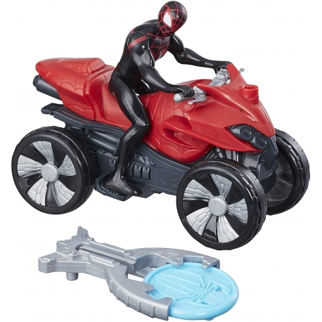 FIGURINE ET QUAD SPIDERMAN Noir