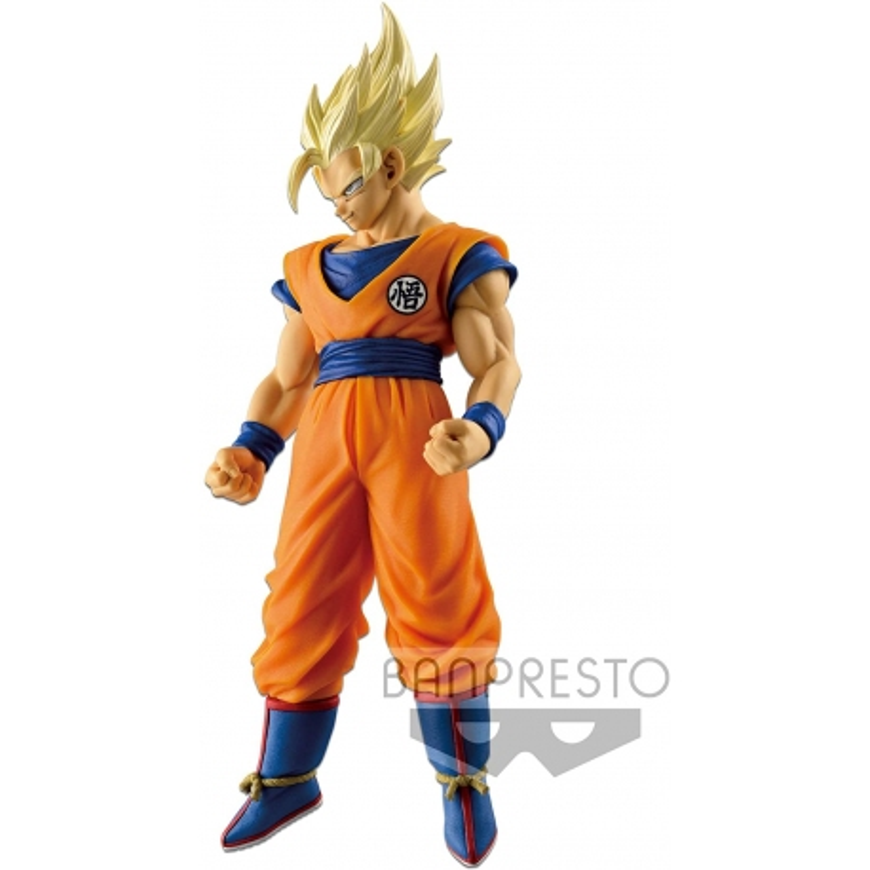 FIGURINE DRAGON BALL Z Scultures Big Budokai 6 Vol 2 - Goku Sayan 2 17 cm