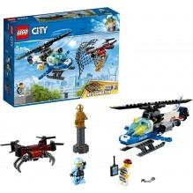 LEGO LE DRONE DE LA POLICE