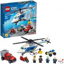 LEGO ARRESTATION EN HELICOPTERE 60243