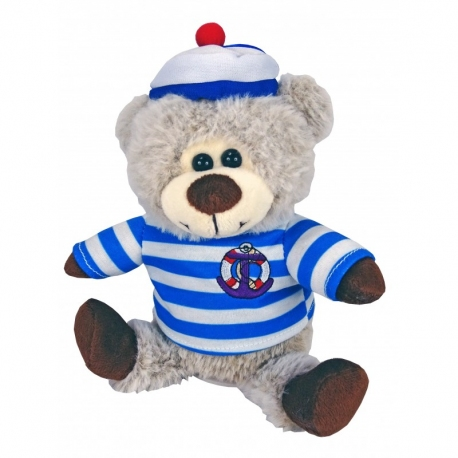 PELUCHE OURS MARIN PARLANT