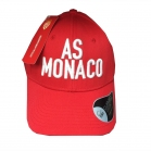 CASQUETTE AS MONACO Relief Rouge