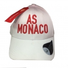 CASQUETTE AS MONACO Relief blanche