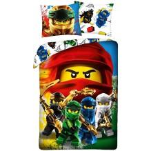 HOUSSE DE COUETTE LEGO NINJAGO Kai, Cole, Lloyd, Jay et Zane