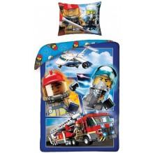 HOUSSE DE COUETTE LEGO CITY Pompier