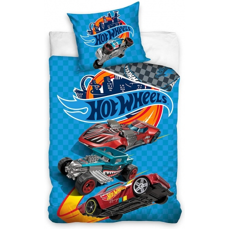 HOUSSE COUETTE HOT WHEELS