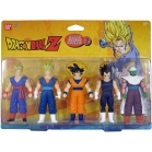 SET 5 FIGURINES DRAGON BALL Z