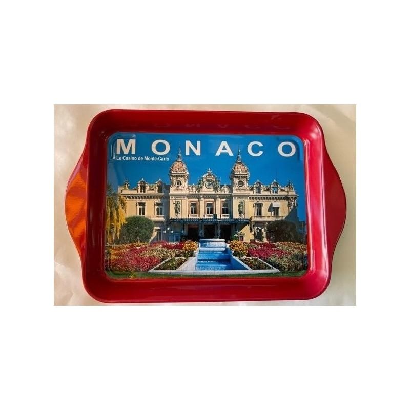 Plateau métal Monaco le palais