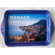 Plateau métal Monaco la ville