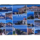 Magnet photo Cote d Azur multi vues