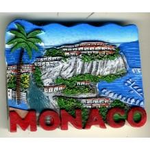 Magnet résine Monaco le rocher