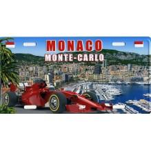 Plaque de rue Monaco le port