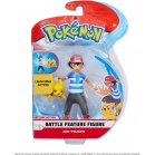 Figurine Pokémon Sacha et pikachu