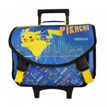 Cartable à Roulettes Pokemon Pikachu 41 cm