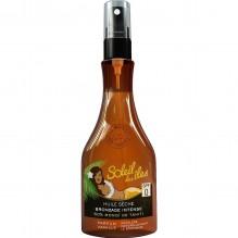 Huile bronzante parfum vanille SPF 0 SOLEIL DES ILES 150 ml