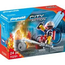 PLAYMOBIL le pompier 70291