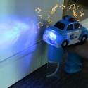 Pistolet à bulles en forme de voiture de Police