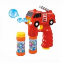 Pistolet à bulles en forme de camion de Pompier
