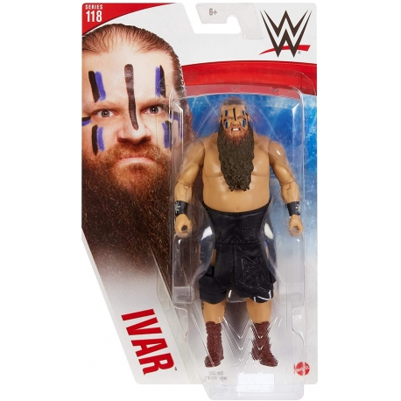 WWE Figurine articulée Ivar  série 118