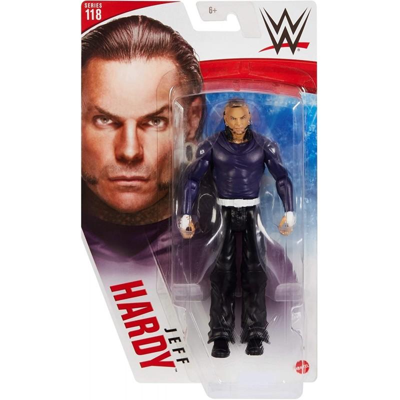 WWE Figurine articulée Jeff Hardy série 118