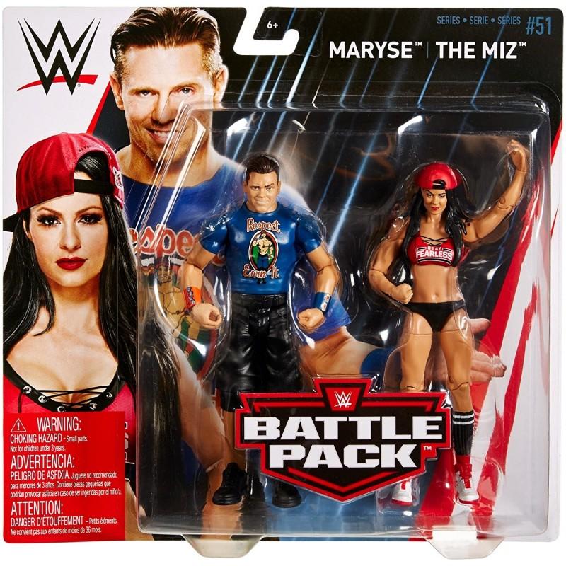 WWE- The Miz et Maryse Pack de 2 Figurines
