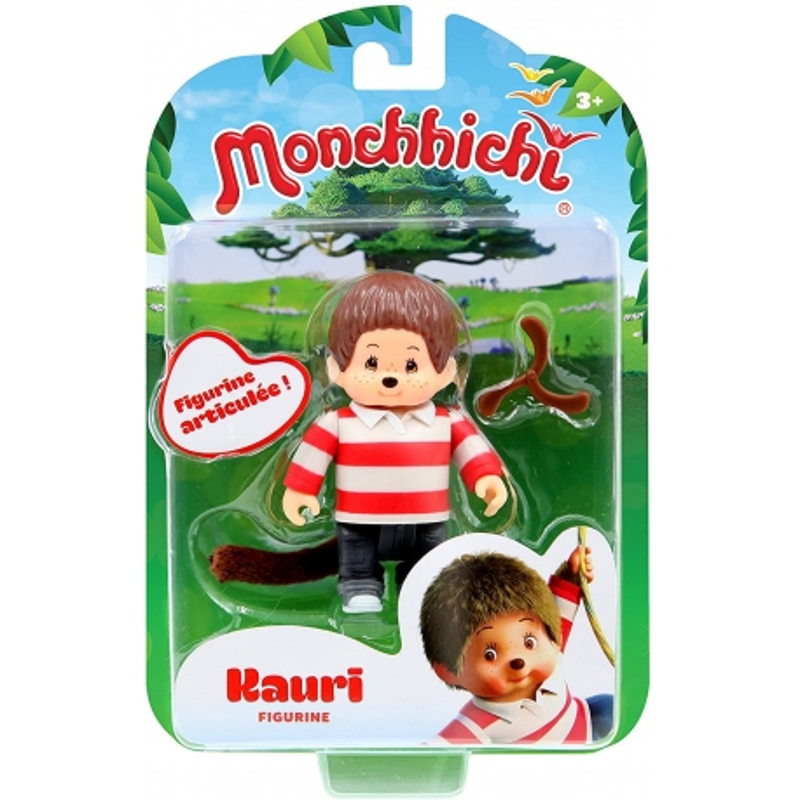 Monchhichi - Figurine Articulée Kauri - 7,5 cm