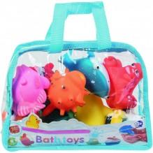 Jeux de bain sac 10 animaux