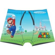 Boxer de bain Super Mario Bleu-Vert
