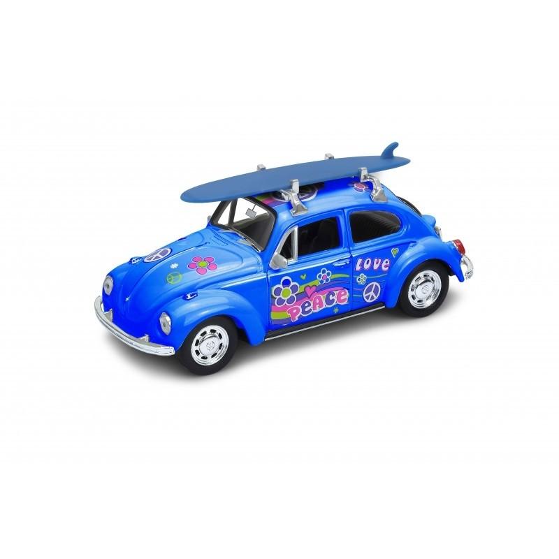 Voiture Coccinelle Volkswagen bleu