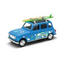 Voiture miniature 4L surf  1/40