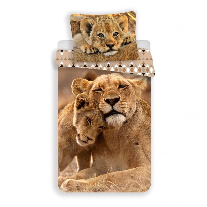 Housse de couette Lions