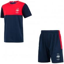 FFF.Maillot et short équipe de France de Football