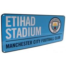 Plaque de rue Manchester City