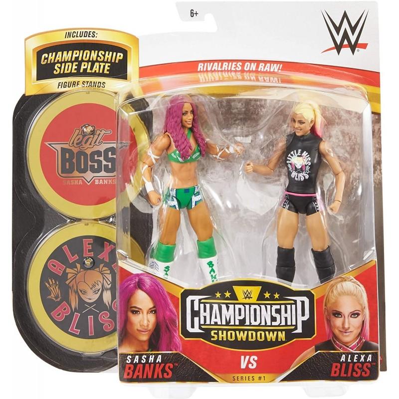 Figurines WWE Basic Battle Pack: Sasha Banks & Alexa Bliss