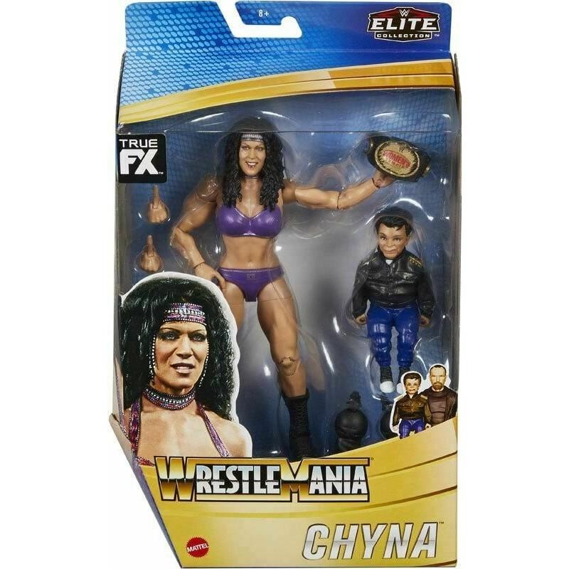 Figurine wwe WrestleMania Collection Élite Chyna,