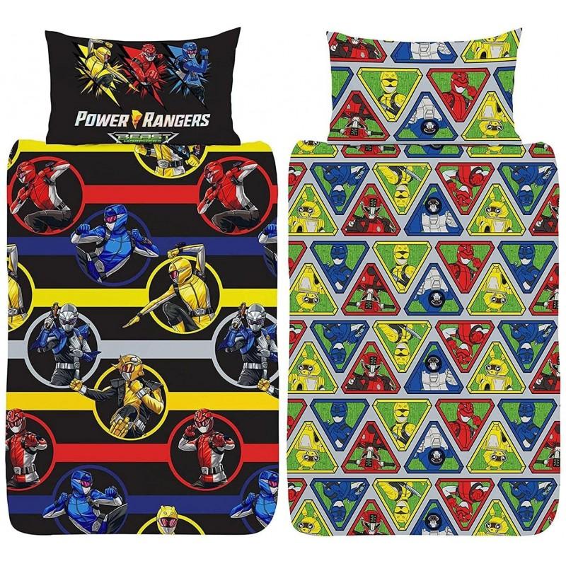 Housse de couette Power rangers Beast Morphers