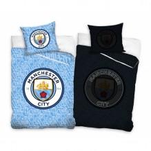 Housse de couette Manchester City Réversible