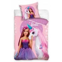 Housse de couette Barbie et la licorne
