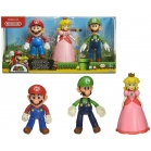 Pack de 3 figurines Mario Bros