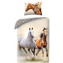 housse de couette chevaux