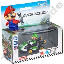 Voiture Mario Kart Luigi