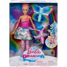 Barbie Dreamtopia poupée fée papillon blonde volante