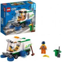 LEGO city la balayeuse de oierie 60249